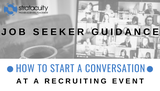 How to Start a Conversation at a Recruiting Event
