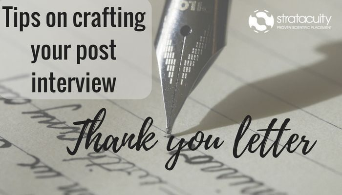 The Art Of Crafting A Post Interview Thank You Letter Stratacuity